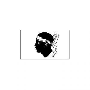 Bandiera CORSICA cm 20 x 30
