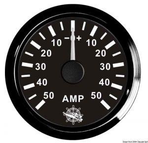 Amperometro scala - 80 + 80 con Shunt