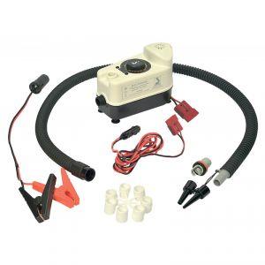 Gonfiatore elettrico per gommoni  a 12 V.