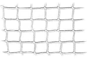 Rete in nylon bianca alta cm. 45 Annodata