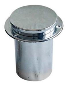 Tappo benzina in ottone cromato collo diam. 60 mm