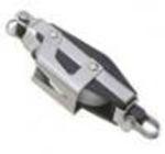 Bozzello nylon acc.inox a violino 2 pulegge mm 08