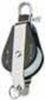 Bozzello nylon acc.inox 1 puleggia arricavo  mm 08