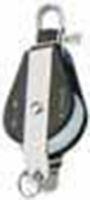 Bozzello nylon acc.inox 1 puleggia arricavo mm 10