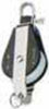 Bozzello nylon acc.inox 1 puleggia arricavo mm 12