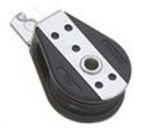 Microbozzello nylon acc.inox piano 2 fori mm 4/6