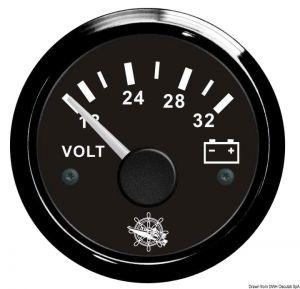 Voltometro scala 18-32 24 V.