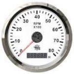 Contagiri elettronico scala 0-4000 RPM con contaore digitale