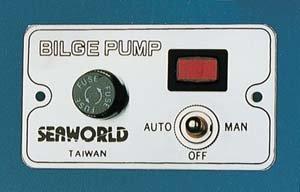 Pannello elettrico BILGE PUMP
