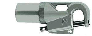 Attacco tangone manuale per tubo da mm 50x46
