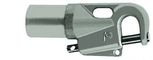 Attacco tangone manuale per tubo da mm 55x50