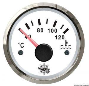 Termometro acqua scala 40-120 12-24V.