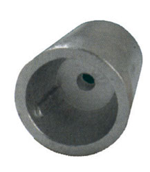 Zinco ricambio radice per assi da mm 35