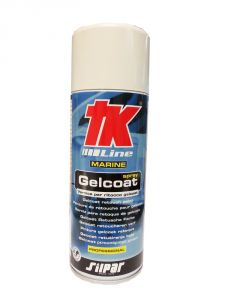 Gelcoat spray bianco da 400ml.
