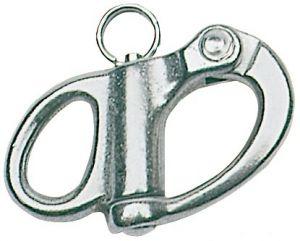 Moschettone inox per Drizze e Spinnaker 70 mm